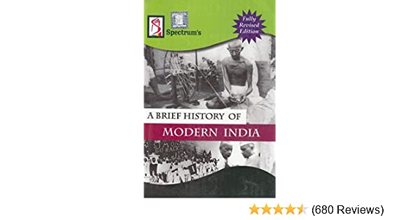 Buy A Brief History of Modern India (2018-2019) Session by