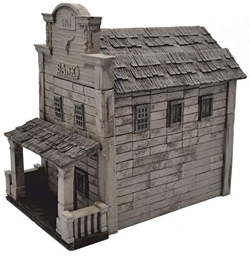 WISE ELK Bank WILD West Mini Bricks Constructor Set 240 Pieces Build and Rebuild 210X135X195 mm Code 70545 -