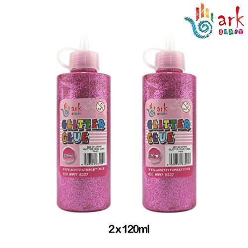 2 x Ark   Colla glitter 120 ml