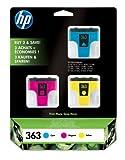HP CB333EE # 301Tintenpatrone blau, rosa, gelb