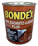 Bondex Holzschutz-Lasur 2in1 Plus 0,75L(726-Kastanie)