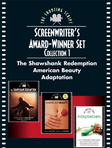 Screenwriters Award-Winner Gift Set: The Shawshank Redemption, American Beauty, and Adaptation (Three Volumes)