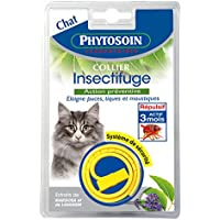 Phytosoin 093443 insect-repellent cuello para gatos (Acción Preventiva)