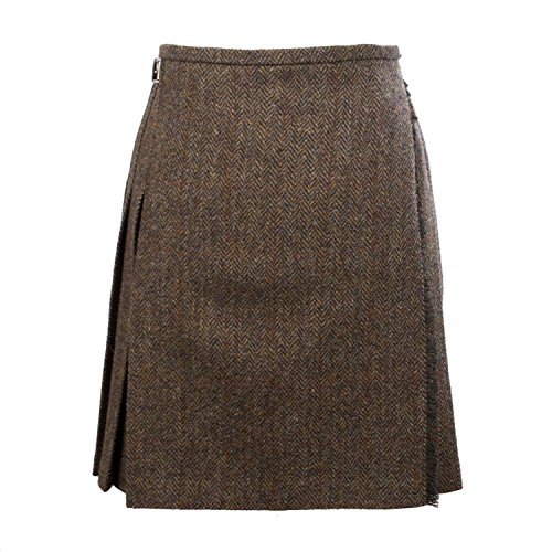 Harris Tweed Damen Rock Gr. 38, braun