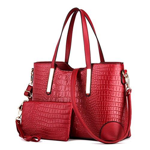 Signore di modo pacchetto diagonale spalla/borse per il tempo libero/big bag Ms.-E D