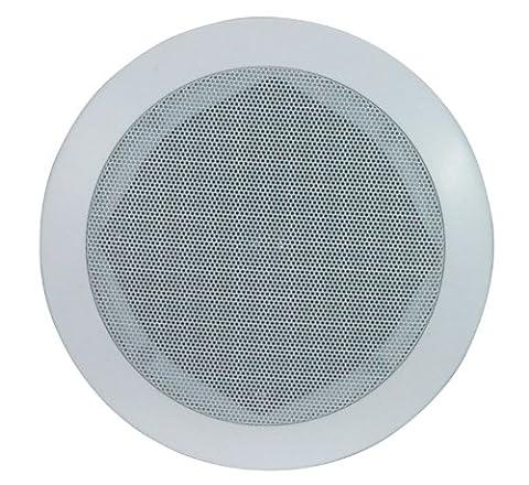 e-Audio plafond rond 120W avec Haut-parleur Tweeter orientable