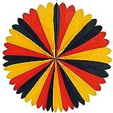 partydiscount24 Dekofächer Deutschland Ø 60 cm WM