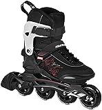 Powerslide Damen Inline-Skate Gamma, Schwarz, 40, 940172/40