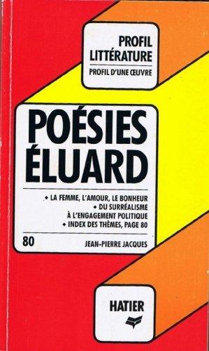Poésies, Eluard : Analyse critique