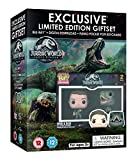 Jurassic World: Fallen Kingdom Limited Edition Gift Set - 2 Funko Pocket POP! Exclusive Keychains [Blu-ray] [2018] [Region Free]