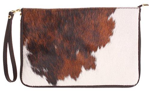 Big Handbag Shop, Borsetta da polso donna One Pony - Design 5