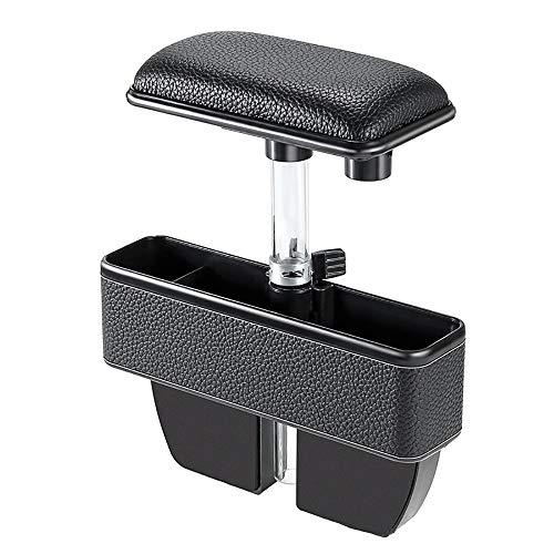 Preisvergleich Produktbild Singeru Universal Car Console Gap Armlehne mit Aufbewahrungsbox Fahrzeug Seat Seitlicher Gap Organizer verstellbare Armlehne Getränkekarte Münze Key Organizer Box
