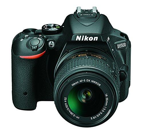 Nikon D5500 DX-format Digital SLR with AF-P 18-55mm VR Len Kit, CARD, CAMERA BAG