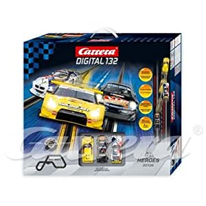 Carrera Digital 132 - circuit - 30136 - 1/32 eme digital - Dig 132 GT Heroes