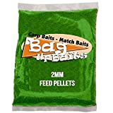 Bag Up Baits Boosted Green Squid 2mm Carp Pellets Session Pack With Free Delivery