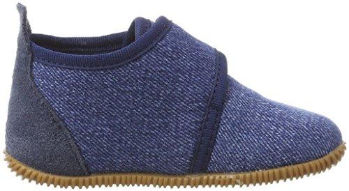 Giesswein Jungen Strass-Slim Fit Hohe Hausschuhe Blau (527 / jeans)