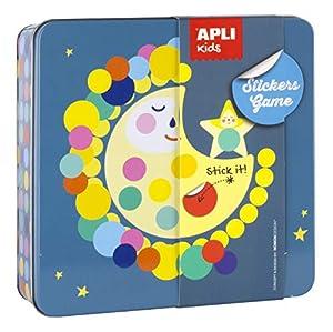 APLI Kids- Juego de gomets, Multicolor (15221)