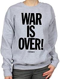War Is Over Sixties Peace Hippy Counterculture Womens Sweatshirt