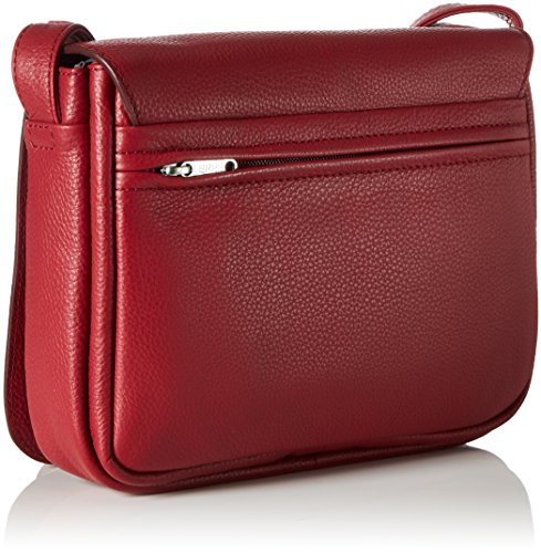 Unbekannt - Lady Top 12, Borsa a tracolla Donna Rot (Brick Red)
