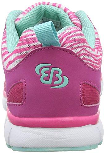 Brütting Cosmos, Chaussures de course femme Rose - Pink (pink/tuerkis)