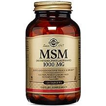 Solgar MSM 1000 mg Tablets, 120 Tabs 1000 mg