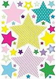 anna wand Wandsticker STARS 4 GIRLS - Wandtattoo für Kinderzimmer/Babyzimmer mit Sternen in versch. Farben und Größen - Wandaufkleber Schlafzimmer Mädchen & Junge, Wanddeko Baby/Kinder für anna wand Wandsticker STARS 4 GIRLS - Wandtattoo für Kinderzimmer/Babyzimmer mit Sternen in versch. Farben und Größen - Wandaufkleber Schlafzimmer Mädchen & Junge, Wanddeko Baby/Kinder