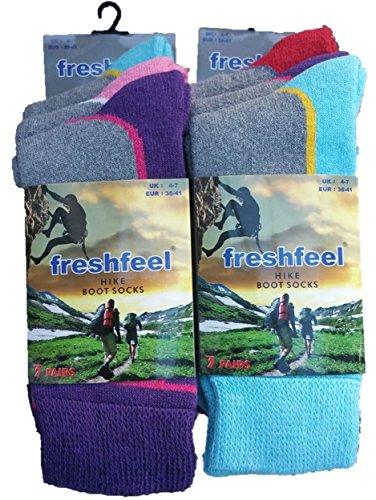 6-Pairs-Fresh-Feel-Hike-Boot-Socks-L10778-Ladies-4-7