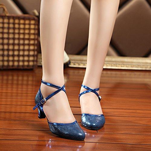Miyoopark , Salle de bal femme Blue-5.2cm Heel