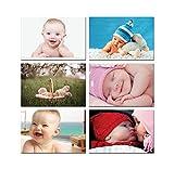 #7: Paper Plane Design Smiling Baby Posters for Pregnant Women. Design Set : 9