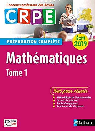 Mathématiques – Épreuve écrite 2019 – Tome 1 par Saïd Chermak