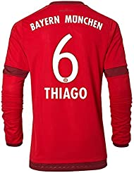 Jersey Adidas FC Bayern Munich 2015-2016 Home - Thiago [Size XL Long Sleeve]