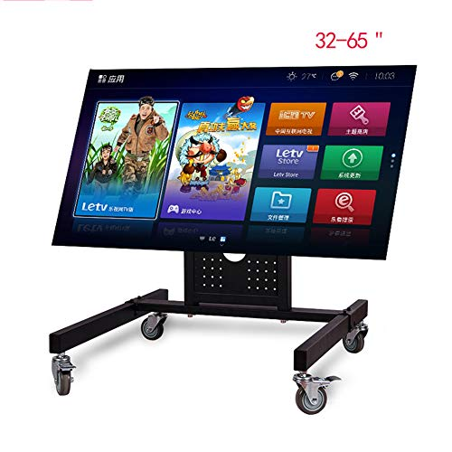 Mobile TV-Stand Trolley Cart 360 Degree Rotation für Shipping Malls, Office oder andere geräumige Raumatmaterial Cold Rolled Steel 4k TV-Cart -