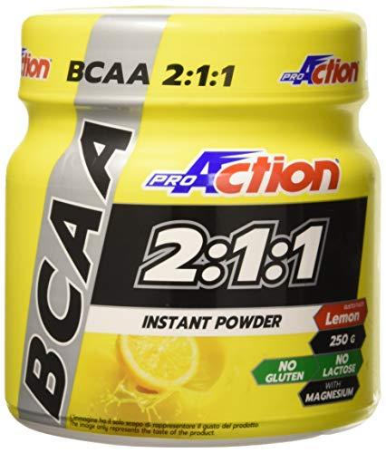 Proaction bcaa 2:1:1 instant - barattolo da 250 g