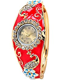 HORSE HEAD Analogue Multicolor Dial Women's Watch - Type 90 (PACK OF 8))