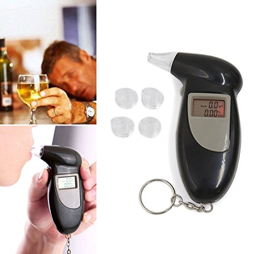 sourcingmap® Digital LCD souffle alcool testeur analyseur alcootest Alcotest Trousseau détecteur