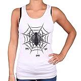 Spider-Man Spider Web Top donna bianco S