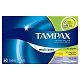 Tampax Tampons Multipax Variety Pack of ...