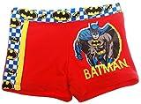 Boxer de bain enfant garçon Batman Rouge et Marine de 3 à 8ans