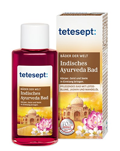 Tetesept Indisches Ayurveda Bad, 5er Pack (5 x 125 ml)