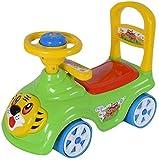 #5: Akshat Tiger Rider & Push Along Small Magic Car With Music