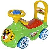 Tiger Rider & Push Along Small Magic Car With Music