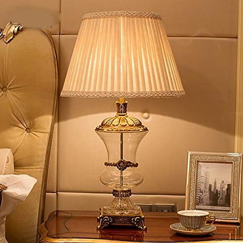 Lampade da tavolo in cristallo elegante atmosfera di lusso Jane classico europeo di cristallo di lusso di illuminazione soggiorno camera da letto den - Elegante Cristallo