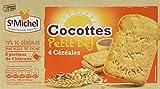 ST MICHEL Cocottes Petit Déjeuner 4 Céréales 300 g - Lot de 6
