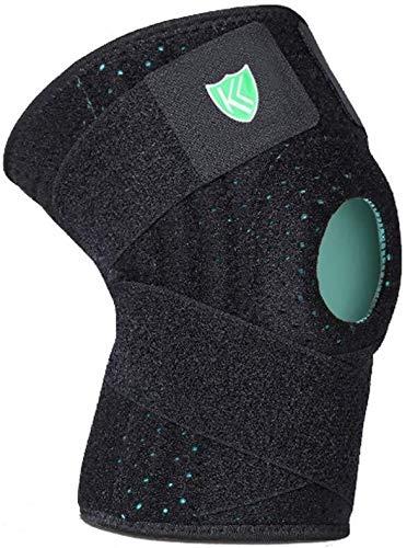 CAODANDE-huju Schutzkleidung Outdoor-Basketball Bergsteigen Anti-Kollisions-Badminton Unisex Knieschützer Schutzausrüstung (Size : X-Large)