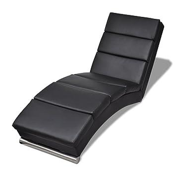 vidaxl relaxliege chaiselongue sessel liegesessel lounge liege ruhesesselschwarz amazonde kche haushalt - Bergroe Sessel Chaiselongue