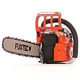FUXTEC Benzin Kettensäge FX-KSE141 Schwert 38 cm Kette 41 cc Motorsäge MS Motorkettensäge PS Säge