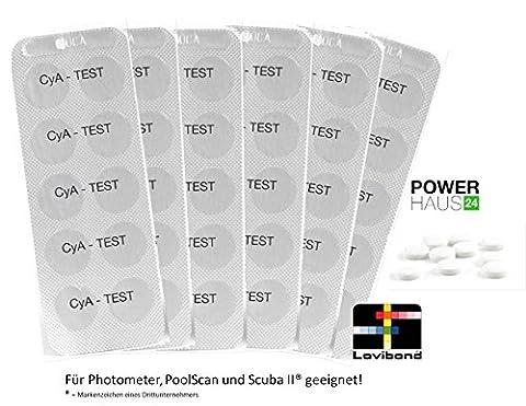 60 Testing Tablets (for Test CyA Caynuräure Photometer / Scuba