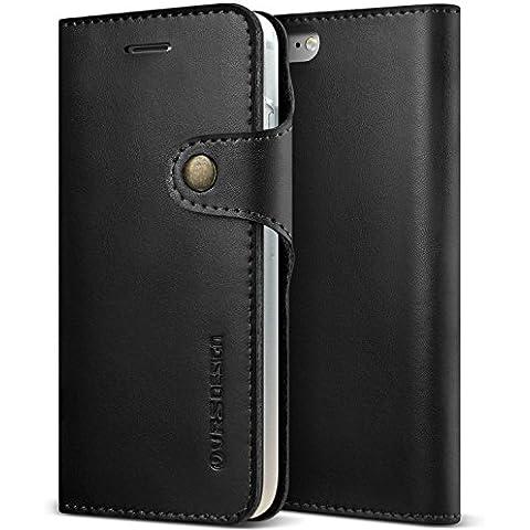 Custodia Iphone 7, Design VRS [Native,] [Nero]–[vera