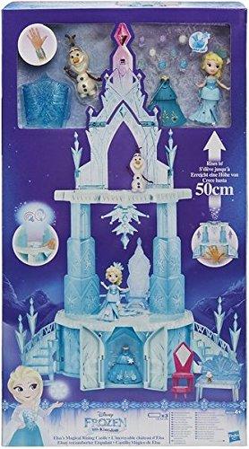 Hasbro Disney Die Eiskönigin B6253EU5 - Little Kingdom Elsas verzauberter Eispalast, ()