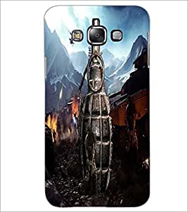 PrintDhaba Hand Granade D-4887 Back Case Cover for SAMSUNG GALAXY GRAND 3 (Multi-Coloured)